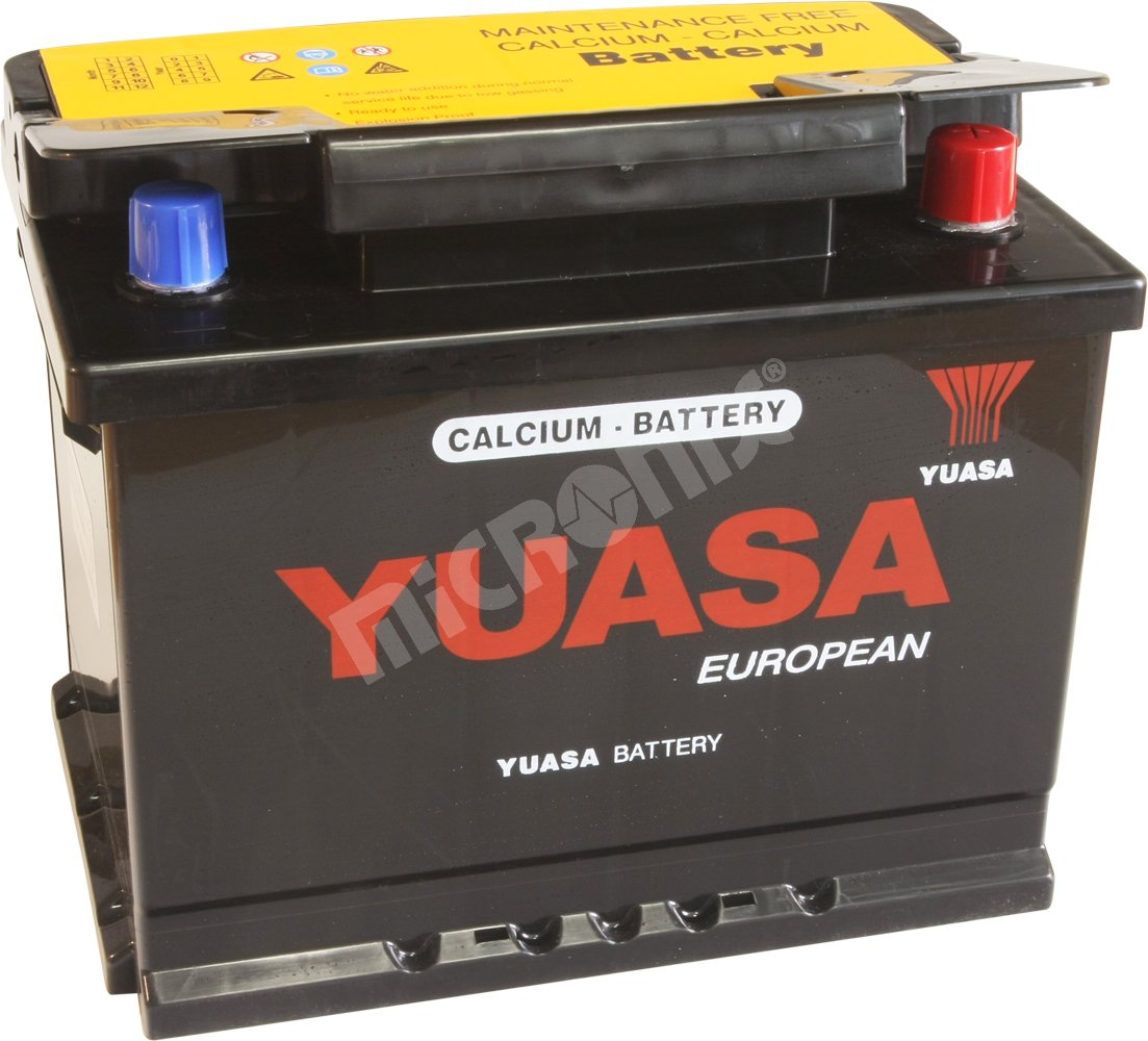 car battery yuasa 55530ca 12v 55ah. Black Bedroom Furniture Sets. Home Design Ideas